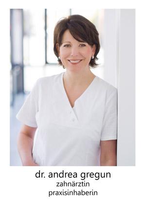 Dr Andrea Gregun - Zahnarztpraxis Lübeck - Team Frau Gregun
